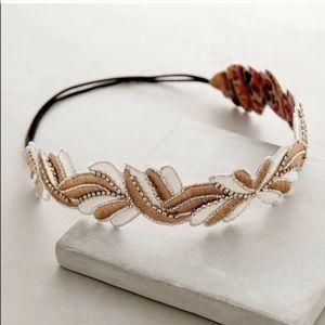 Anthropologie ethereal rhinestone Head strap